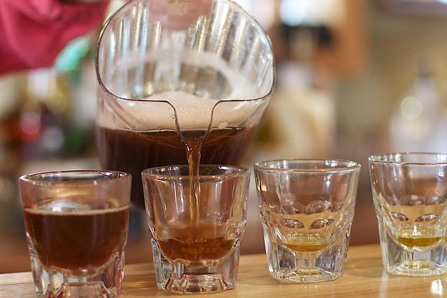 Hot Scotchy Pour
