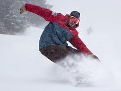 POWDER DAY! (mountsnow) Tags: snowboarding vermont skiing camshot mountsnow
