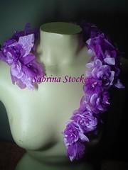 Alça para vestido noite (ateliedosacessorios.blogspot.com) Tags: flores florista flordetecido vestidolongo modafesta modanoite alçaparavestido complementosparavestido