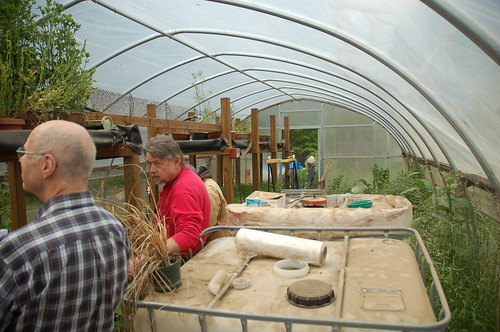 "Hoop House / Aquaponics System <a style=""margin-left:10px; font-size:0.8em;"" href=""http://www.flickr.com/photos/91915217@N00/12356347234/"" target=""_blank"">@flickr</a>"