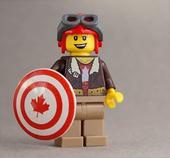 Captain Cold (customBRICKS) Tags: canada lego shield custom minifigure vision:text=0511 vision:outdoor=0765