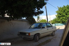 Renault 9 Tunisia 2014 (seifracing) Tags: france cars french tunisia tunis 9 voiture renault vehicles trucks van polizei spotting tunisie seifracing