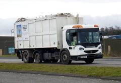VX05 FHF (Cammies Transport Photography) Tags: truck edinburgh lorry dennis recycling newbridge core a8 vx05fhf