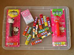 A few PEZ items (Jay Tilston) Tags: hello pez kitty sweets