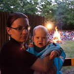 Georges First Gilwell Reunion Campfire