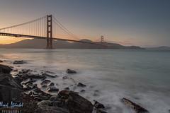 Golden Gate Bridge at Sunset! - San Francisco (AlkhashabNawaf) Tags: california bridge sunset beach america gold golden bay nikon gate san francisco view lee nd seals nikkor filters isa d800 nawaf 1635 gnd alkhashab