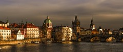 Prague (karinavera) Tags: city bridge photography cityscape czech prague praha praga panoramic czechrepublic attractions nikond3200 bestcapturesaoi elitegalleryaoi