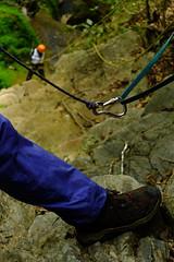 anclajes (b3co) Tags: naturaleza mountain mexico waterfall queretaro montaa rappel vacaciones b3co cascada sierragorda trecking qro sierraaventura
