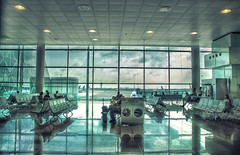 Barcelona Airport (christian&alicia) Tags: barcelona airport nikon sigma sala catalonia catalunya aeroport aeropuerto 18200 prat catalogne d90 christianalicia ilobsterit
