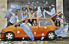 PAIS FUTBOLERO (IVANA 100) Tags: argentina bandera mundial futbol pelota pasion argentinidad