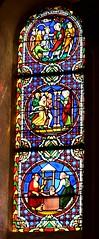 Clermontferrand (Francia). Baslica Notre-Dame du Port. Vidriera (santi abella) Tags: francia vidrieras auvergne clermontferrand auvernia