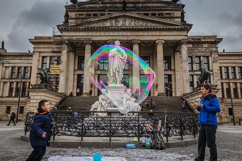Konzerthaus Berlin and Soap Bubble