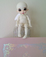 PukiFee Zio (ok2la) Tags: gnome doll ab pixie elf fairy crop aurora faery pierce bjd iridescent fairyland faerie irridescent borealis holographic zio pkf pukifee img2015012501245