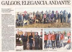 Porcuna acogi el Campeonato Galguero Copa del Aceite (M. Jaln) Tags: aceite campeonato copa prensa diario jan caza recorte galgos porcuna liebres acoge galguero