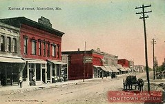 Main Street USA-Kansas Avenue (Dirt Street), Marceline, MO