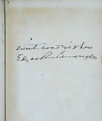 """Autographed copy of """"Tarzan of the Apes"""" by Edgar Rice Burroughs. New York: Grosset & Dunlap, (1927). Reprint Edition (lhboudreau) Tags: book signature books burroughs autograph apeman tarzan edgarriceburroughs hardcover 1927 reprint endpaper endpapers reprints erburroughs hardcovers hardcoverbooks cheapbooks tarzanoftheapes hardcoverbook grossetdunlap reprintedition reprinteditions inexpensivebooks"""