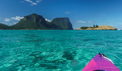 Kayaking at Lord Howe Island (NettyA) Tags: camera water kayak australia clear kayaking nsw housing canoeing day7 unescoworldheritage lordhoweisland thelagoon 2016 lhi resistant ewamarine mtgower mtlidgbird sonya6000 janetteasche lordhoweforclimate