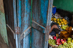 Gariahat , Kolkata , IN 2016 (Soumyendra Saha) Tags: india nikon geometry streetphotography streetphoto extension 1855mm kolkata metamorphosis gariahat humanfigure inexplore indiaphoto d5100 abstractgeometrical flyovermarket