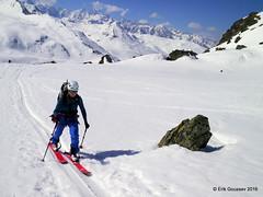 Day 2, afernoon: it's a long slog to the hut! (Erik.G.) Tags: zermatt chamonix skitouring skitour hauteroute valsorey plateauducouloir