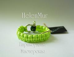 IMG_2350 (Elena Murzina) Tags: hand made bracelet survival   paracord         helenmur
