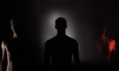 Silhouettes (christianhadzhiyski) Tags: portrait people silhouette long exposure indoors