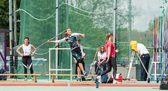 DSC_1199 (Adrian Royle) Tags: people field sport athletics jump jumping nikon track action stadium running run runners athletes sprint throw loughborough throwing loughboroughuniversity loughboroughsport