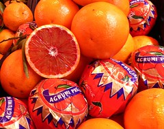 (jenichesney57) Tags: orange green paper juicy purple market cut panasonic sicily oranges peel taormina segments