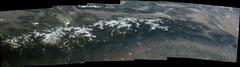 Southern Sierra Nevada, annotated (sjrankin) Tags: california panorama snow northerncalifornia edited nasa yosemitenationalpark monolake sierranevada iss yosemitevalley centralvalley centralcalifornia greatbasin mercedriver annotated hetchhetchyreservoir iss047 28may2016 iss047e126039 iss047e126040 iss047e126041 iss047e126042