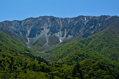 Mt.Daisen Perfect View (Yohsuke_NIKON_Japan) Tags: mountain nature japan spring nikon outdoor sunny bluesky   tottori sanin  daisen   beautyinnature   newgreen d7100  goenzan