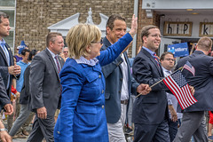 Hillary and Andrew (JMS2) Tags: people sony governor politicians candidate democrats formersecretaryofstate memorialdayparade formerfirstlady