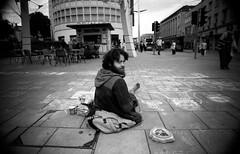 Looking at Me (AJ_UK) Tags: film monochrome 35mm bristol