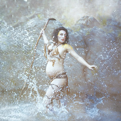'Primal Instincts' (Natasha Root Photography) Tags: wild painterly color water fog square mom smoke fineart mother pregnancy mama tribal pregnant belly imagine cheetah create splash motherhood inspire momma huntress basic primal instinct wildwoman babybump instinctual wildling intincts deepseated natasharootphotography