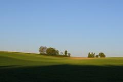 Soft spring landscape (Xtraphoto) Tags: trees landscape shadows felder fields landschaft bume schatten