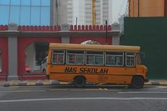 Retro bus (print.tani) Tags: city blue malaysia kualalumpur scape