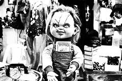 Friday 13 may (ojibwaarts) Tags: tattoo ink dark doll expo folk tattoos 80s horror terror movies friday diabolic friday13 satanic chuky inked vudu satn diablica satnicos expotattoo