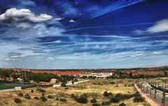 Boadilla del Monte -Madrid- (Spain) (pictumad) Tags: madrid blue sky espaa azul landscape spain paisaje cielo boadilla boadilladelmonte