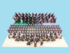 Army of Rohan (samiam391) Tags: soldier army lego battle rohan eomer rohirrim
