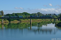 train 3SB3 (ajat18) Tags: bridge north freight asciano wauchope artc pacificnational hastingsriver midnorthcoast