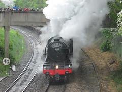 60103 Flying Scotsman (WilsonCPHill) Tags: train flying cathedrals steam a3 salisbury british locomotive express railways scotsman lner 4472 60103