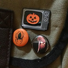 Birthday gifts (the ghost in you) Tags: halloween pumpkin spider jackolantern johncarpenter unbreakable brucewillis mnight halloweeniii halloweeniiiseasonofthewitch