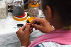 Jewelry Worker (Mark S Weaver) Tags: kathmandu nepa