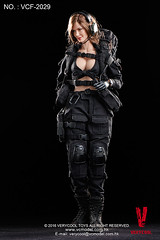 VERYCOOL TOYS VCF-2029 Black Female Shooter - 16 (Lord Dragon ) Tags: hot female toys actionfigure doll angelinajolie verycool onesixthscale 16scale 12inscale