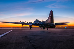 _DSC7639-HDR (kevinsnyder15) Tags: sunrise nikon wwii airshow b17 boeing hdr d300