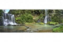 mokoro for print small (viragptl) Tags: new nature water waterfall vibrant falls auckland zealand dual mokoro waitakere