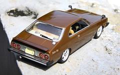 Nissan Skyline 2000 GT-ES (KHGC211) (vitaraman) Tags: skyline marriott acrylic 2000 nissan aoshima 211 veilside fujimi gtes khgc