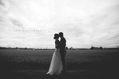 silhouetted bride & groom (riggsy23) Tags: wedding silhouette canon photography groom bride angle wide 1635mm