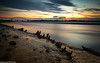 Wigg Island (1 of 3) (andyyoung37) Tags: uk sunset cheshire runcorn boatwreck rivermersey runcornbridge
