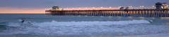 Oceanside Pier (ronknight777) Tags: ocean california sunset pier surf waves surfer wave overcast oceanside southerncalifornia marinelayer oceansidepier sandiegocounty