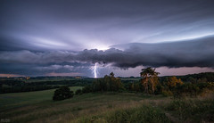 Thunderstorm (m.cjo Fotografie - Martin Rakelmann) Tags: flash thunderstorm lightning blitz rgen gewitter flashes blitze ghren