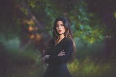 Marien Rose (Onirica Fotografos Valencia) Tags: woman black forest retrato retratos cotton bosque algodn